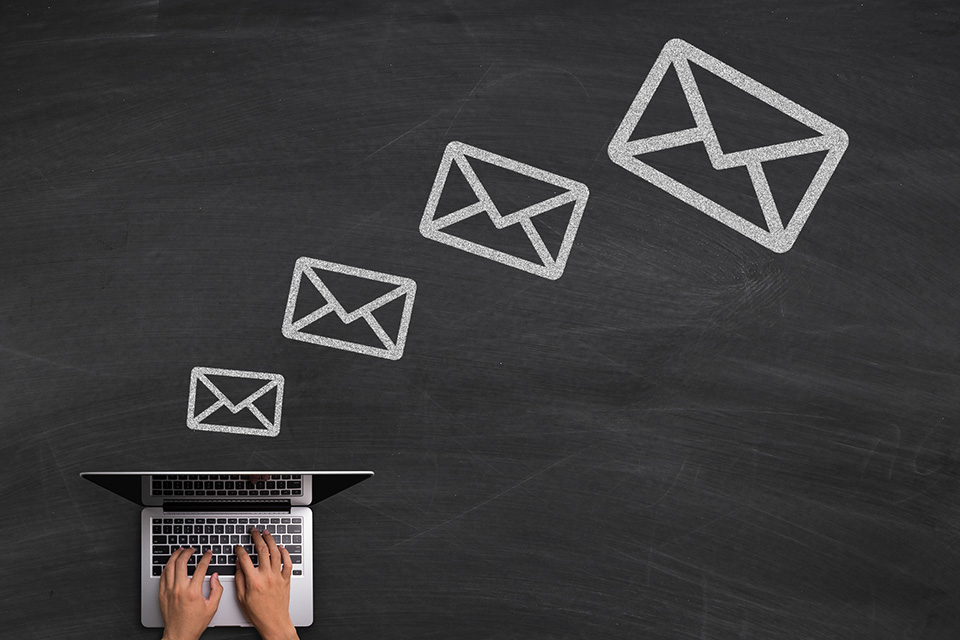 Follow up with leads via email
