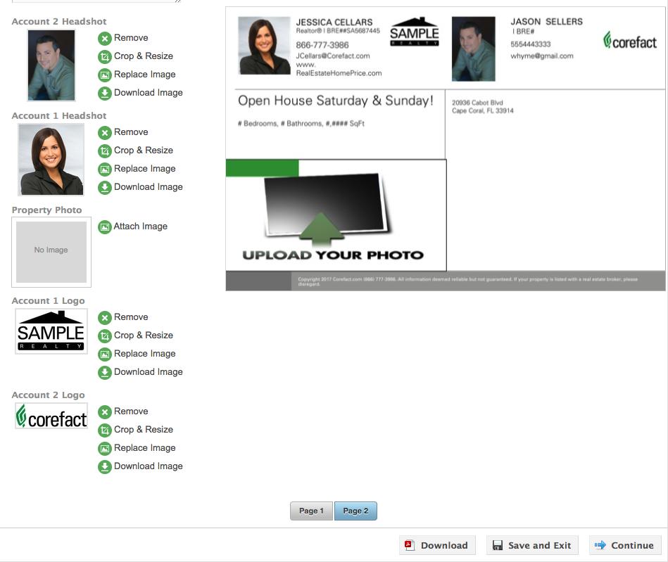 Co-branding Design Screenshot 1