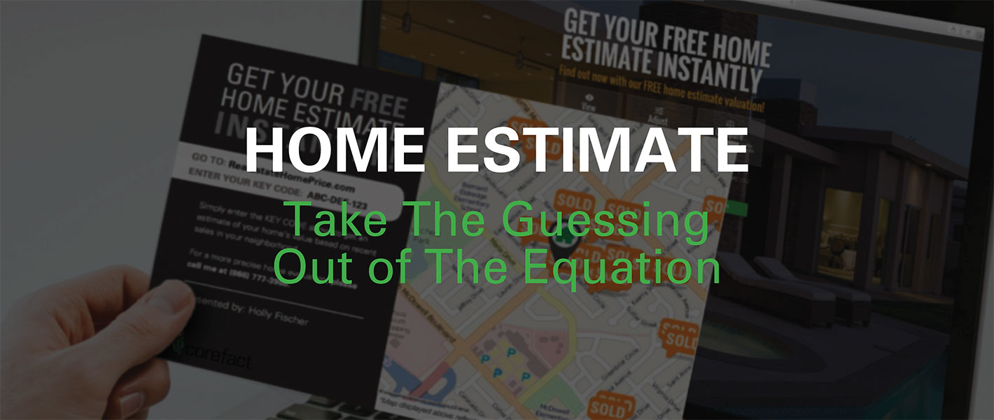 Real Estate Home Estimate Postcards