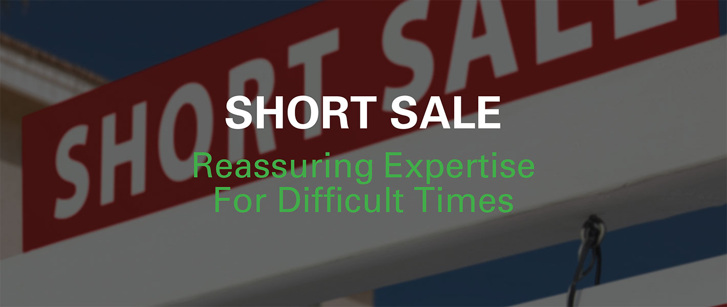 Real Estate Short Sale Postcards
