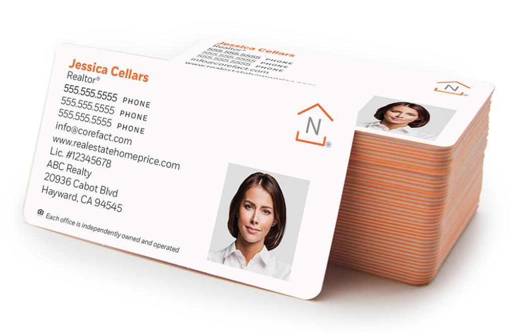 Corefact Luxe Business Card 03 - Full Color Photo