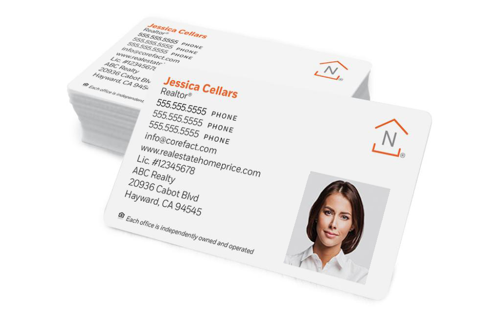 Corefact Standard Business Card 03 - Full Color Photo